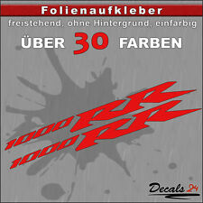 2er SET - 1000 RR Sponsoren-Folienaufkleber Auto/Motorrad - 30 Farben - 18cm