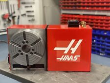 Haas Hrt 210 8 Rotary Table With Brush Drive Motor Cable And Connector