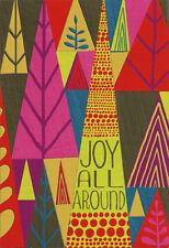 Joy All Around - Box of 16 African American Hallmark Christmas Cards