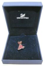 Swarovski 'Little Red Dress' Rhinestone Pin Brooch - New in Box