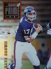 NFL 023 Dave Brown QB Quaterback Play off Prime 1996