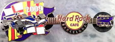 Hard Rock Cafe BARCELONA 2009 Formula One Race Car GUITAR PIN LE250 - HRC #49275