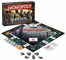 Monopoly Mass Effect N7 Collector's Edition 2015 USAopoly NEW