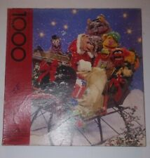 Vintage A MUPPET CHRISTMAS PARTY Springbok Jigsaw Puzzle missing 1 piece