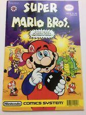 Vintage Nintendo Comics System Super Mario Bros Valiant No. 5 Comic Book