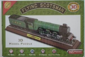 """""""Flying Scotsman"""" - 'Build-It' 3D Model Puzzle, Brand New / Sealed wrapper."""