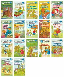 NEW I Can Read The Berenstain Bears Set of 17 Beginning Level 1 Kids Reader Book