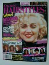 1991 Celebrity Hairstyles Magazine Madonna Photograph Cover
