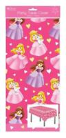 Princess Plastic Party Tablecloth Kids Table Cover Girl Birthday Gift 120x180