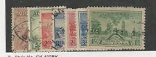 Australia, Postage Stamp, #139, 141, 157-161 Used, 1932-36