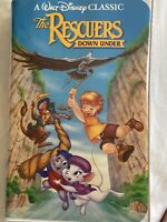 Walt Disney The Rescuers down under VHS Black Diamond The Classics