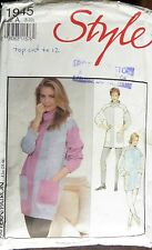 STYLE SEWING PATTERN LADIES PANTS & JUMPER SIZE 8-12 NO. 1945