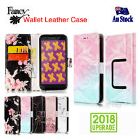 Stylish Wallet Leather Card Flip Universal Cover for Optus X Power Case Case