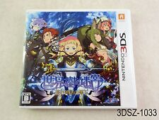 Sekaiju no Meikyuu Etrian Odyssey V 5 Nintendo 3DS Japanese Import US Seller