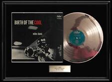 MILES DAVIS BIRTH OF COOL ALBUM WHITE GOLD SILVER PLATINUM TONE RECORD LP VINYL