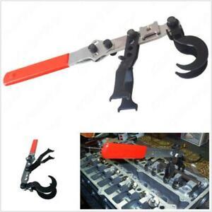 Portable 50# Steel Car Valve Spring Compressor Pusher Handheld Tool Universal