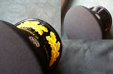 Pair of Oak leaf Clusters Gold Color Patches for Commander Captain Cap Hat Visor