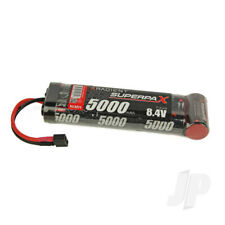 Radient NiMH Battery 8.4V 5000mAh SC 6-1 Stick Pack Deans HCT T-style Connector