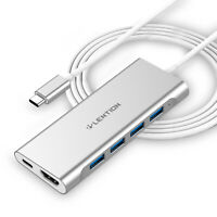 LENTION USB C Hub Type C to HDMI Cable PD USB 3.0 Adapter for 2019 MacBook Pro