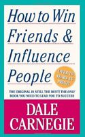 How to Win Friends and Influence People by Dale Carnegie Paperback Book The Fast