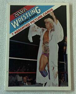 1988 Wonderama NWA Wrestling Superstars SEALED CELLO PACK ~ Ric Flair