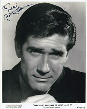 ROBERT FULLER Autographed WHATEVER HAPPENED TO AUNT ALICE? Photograph - To Lori