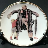 """""""The Gift"""" The Best Of Norman Rockwell - 1983 Miniature Collectors Plate"""