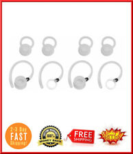 4 Pack Wireless Ear Hook Earhook Clip Loop Motorola Bluetooth Headset Boom White