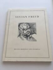 1993 Art LUCIAN FREUD RECENT DRAWINGS AND ETCHINGS Paperback