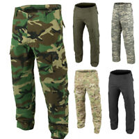 Mens BC159 Ripstop Cargo Combat Military Camouflage Multipocket Trousers