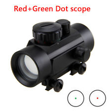 Tactical Red/Green Laser Dot Sight for Gun Pistol Picatinny Rail Mount W/30mm