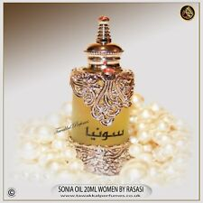 SONIA 15ML OIL FOR WOMEN  Concetrated perfume Oil/Attar Rasasi APPROVED SELLER