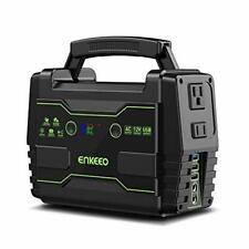 Enkeeo Portable Solar Generator Solar Power Inverter Electric Generator