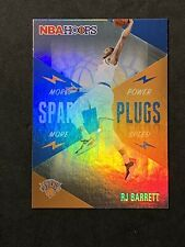 "2020-21 Panini NBA Hoops Holo Foil Spark Plugs "" RJ Barrett "" 2nd Year"