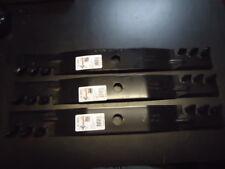 """3 Mulching Mower Blades For John Deere 60"""" TCU15881 M128485 Z920 Z930M Z925 Z950"""