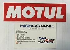 Motul Stickers x2 Sold in pairs