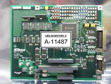 Nikon 4S018-765 Driver Interface Board PCB IU-DRV4 NSR Series Used Working