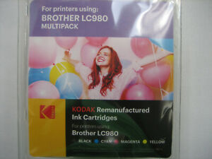 Kodak Photo Boxed New For Brother DCP-145C MFC-250C LC-980