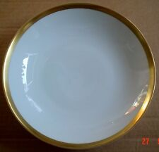 Thomas Germany Dessert Bowl White With Gold Trim Edge