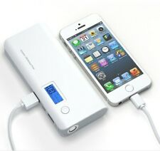 Portable charger 10,000 mAh Dual USB port works for all mobile phone chargers