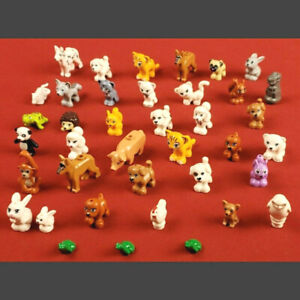 Genuine Lego Animal Minifigures Mixed Lot Cat Dog Pig Chicken Owl Frogs Pets
