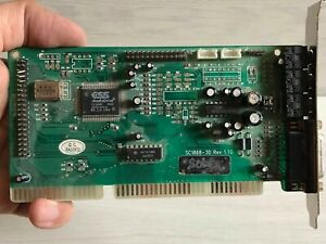 Soundcard ESS SC1868-3D REV 1.10 ISA