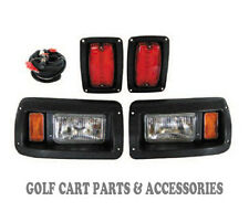 Club Car DS Golf Cart Headlight & Tail Light Kit 1993-UP Gas and Electric