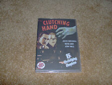 THE CLUTCHING HAND CLIFFHANGER SERIAL 15 CHAPTERS 2 DVDS