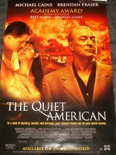 The Quiet American Movie Poster - Michael Caine Brendan Fraser