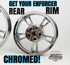 Get Your Enforcer Rear Wheel Chrome Plated by Sport Chrome LIFETIME WARRANTY