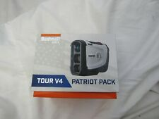 New Bushnell Tour v4 Patriot Pack Laser Rangefinder Tour v4 Range Finder Golf