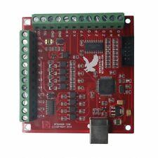 4 Ejes Controlador de movimiento controlador de interfaz USB Cnc Mach 3 100Khz breakout junta