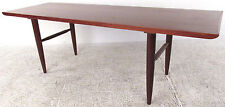 Mid-Century Modern Walnut Coffee Table (0893)NJ