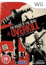 La casa de los muertos: Overkill (Wii), buen Nintendo Wii Video Juegos